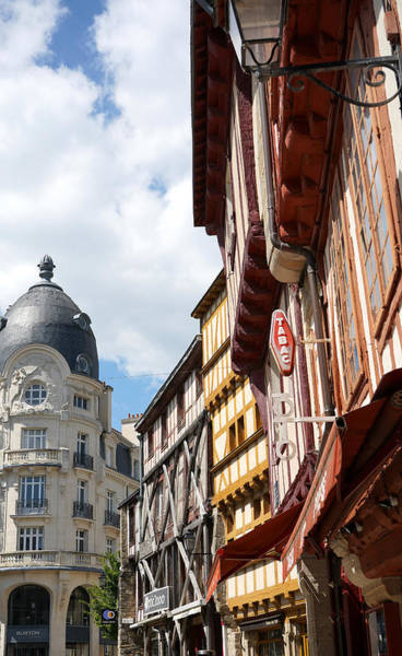Photograph - Vannes 2 by Andrew Fare