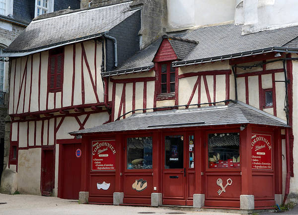 Photograph - Vannes 6 by Andrew Fare