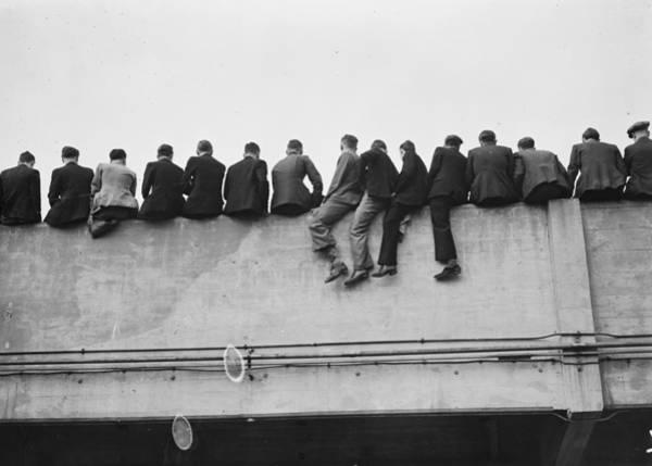 Spectator Photograph - Vantage Point by Davis