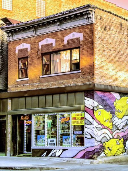 Wall Art - Photograph - Vape Wave Vape Shop by William Dey