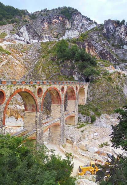 Wall Art - Photograph - Vara Carrara Bridge by Norma Brandsberg
