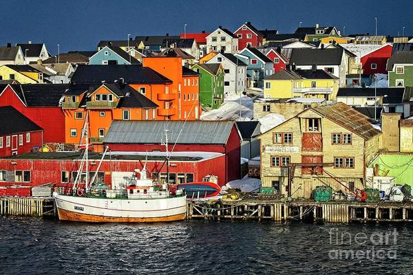 Photograph - Vardo Town Norway by Martyn Arnold