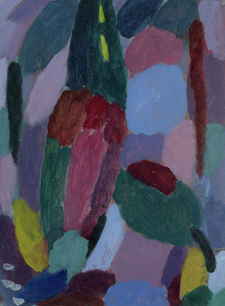 Wall Art - Painting - Variation, Twilight by Alexej von Jawlensky