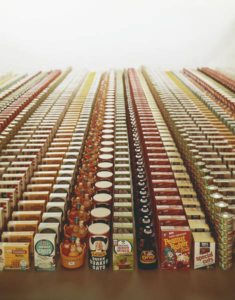 Photograph - Variety Of Packaged Food And Toys by Tom Kelley Archive