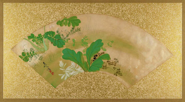 Wall Art - Painting - Various Plants And Grass - Digital Remastered Edition by Shibata Zeshin