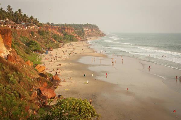 Kerala Photograph - Varkala Beach, Kerala by Www.victoriawlaka.com