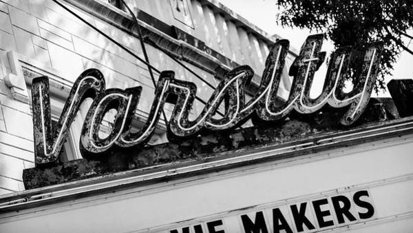 Wall Art - Photograph - Varsity Theatre Chapel Hill - #1 by Stephen Stookey