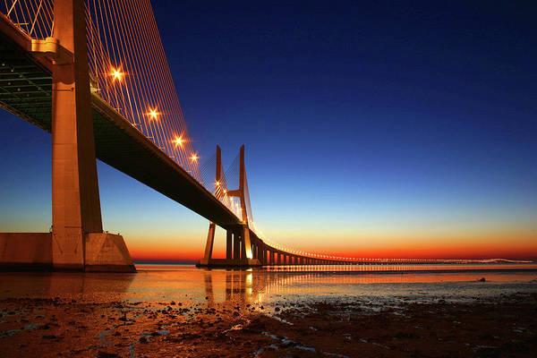 Vasco Da Gama Bridge Wall Art - Photograph - Vasco Da Gama Bridge by Andreviegas
