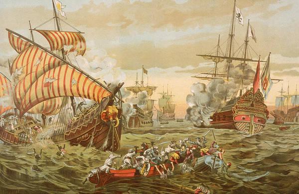 Pilgrimage Wall Art - Photograph - Vasco Da Gama Causing Destruction by Kean Collection
