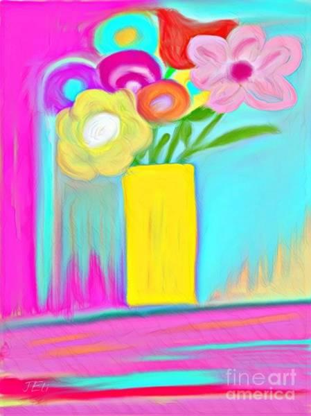 Mixed Media - Vase Of Life by Jessica Eli