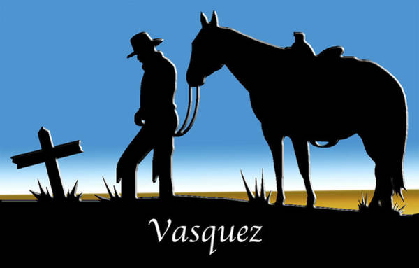 Digital Art - Vasquez  by Chuck Staley