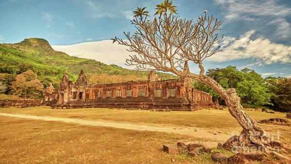Wall Art - Photograph - Vat Phou Temple Complex by MotHaiBaPhoto Prints