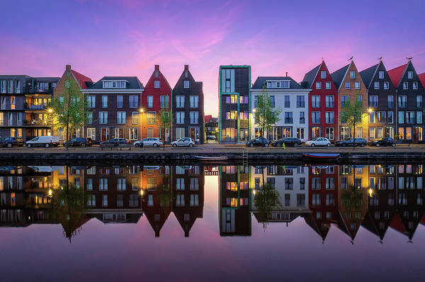 Photograph - Vathorst Reflections by Mario Visser