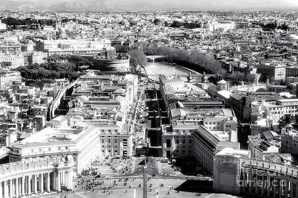 Photograph - Vatican City View by John Rizzuto