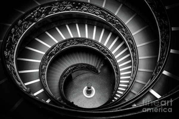 Wall Art - Photograph - Vatican Spiral Staircase by Louise Poggianti