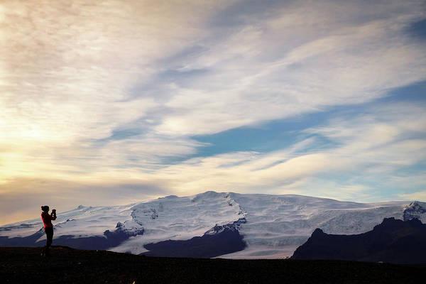 Photograph - Vatnajokull View by Framing Places