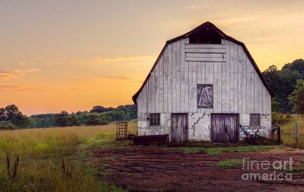 Wall Art - Photograph - Vaughter's Barn At Arabia Mountain by Cory Brewington