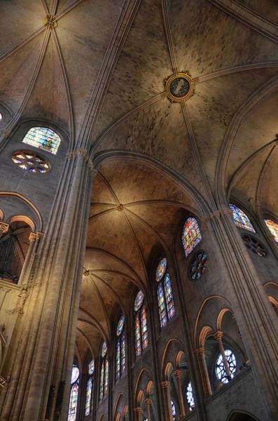 Wall Art - Photograph - Vaults Of Notre Dame De Paris Before The Fire Of 2019 by RicardMN Photography