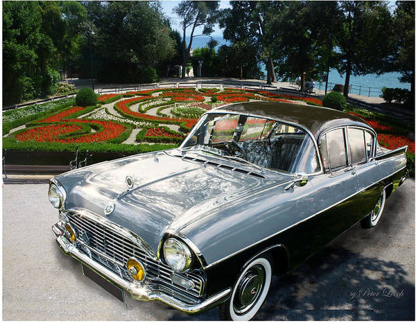 Digital Art - Vauxhall Cresta In Croatia by Peter Leech