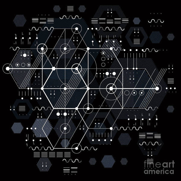 Wall Art - Digital Art - Vector Industrial And Engineering by Sylverarts Vectors