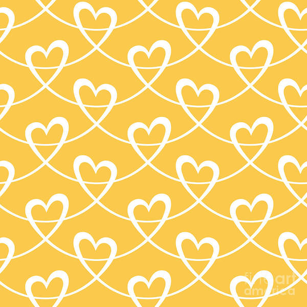 Lovely Wall Art - Digital Art - Vector Seamless Pattern With Stylized by Anfisa Focusova