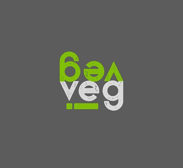 Drawing - Veg Stacked With I - Green And Gray by Charlie Szoradi