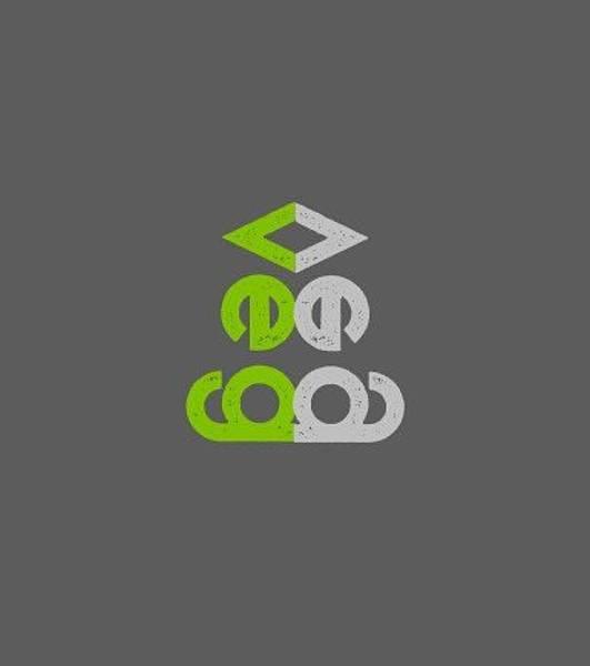 Drawing - Veg Vertical - Green And Gray by Charlie Szoradi
