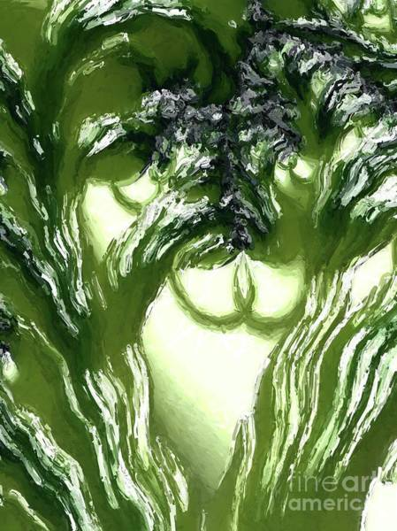 Fractal Painting - Vegetation. Abstract Art By Tito by Tito