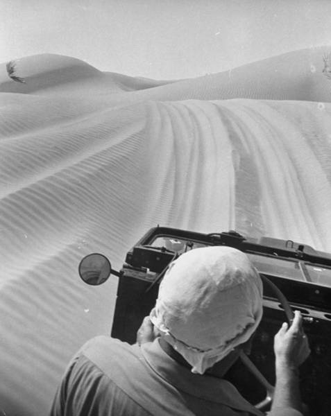 Driving Photograph - Vehicle Being Tested For Driving In by Loomis Dean