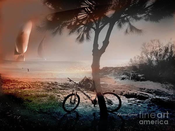 Photograph - Velas Y Bici by Alfonso Garcia