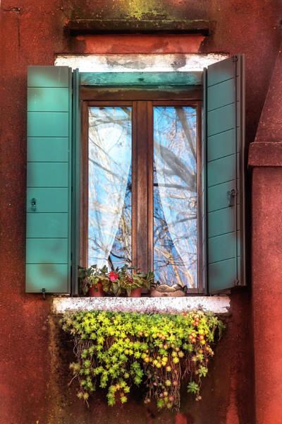 Photograph - Venecian Window by Harriet Feagin
