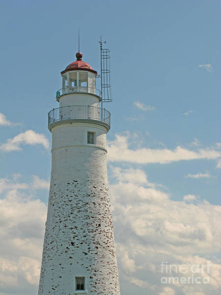 Photograph - Venerable Lighthouse by Ann Horn