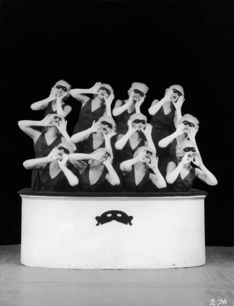 Revue Photograph - Venetian Ballet by Sasha