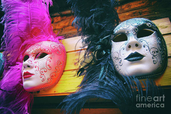 Photograph - Venetian Carnival Masks by Carlos Alkmin