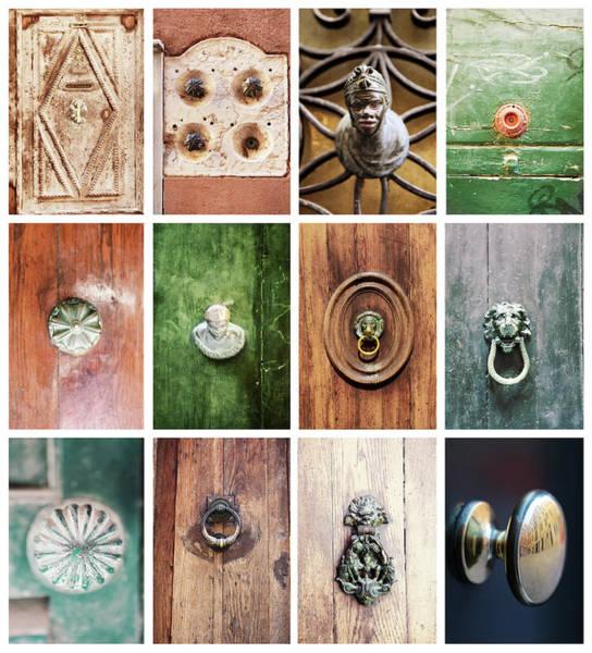 Doorknob Photograph - Venetian Door Knobs by Dori Oconnell