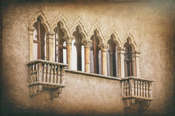 Wall Art - Photograph - Venetian Gothic Architecture Verona Italy  by Carol Japp