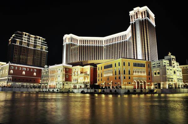 Luxury Hotel Photograph - Venetian Macao by Leung Vai Chi, Rosanna