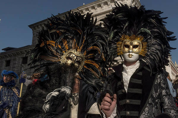 Photograph - Venetian Mask 2019 009 by Wolfgang Stocker