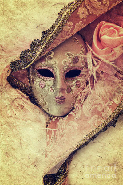 Wall Art - Photograph - Venetian Mask by Delphimages Photo Creations