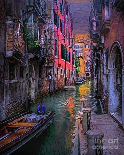 Photograph - Venetian Twilight by Brian Tarr