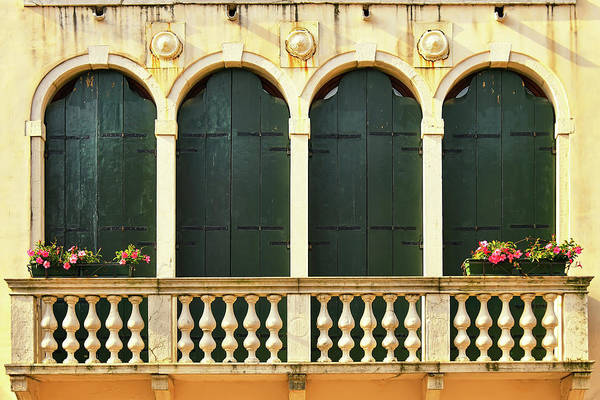 Wall Art - Photograph - Venetian Windows  by Svetlana Sewell