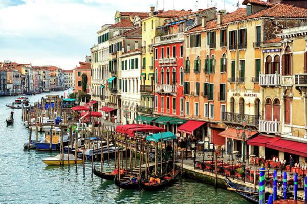 Photograph - Venezia Grand Canal 2009 by John Rizzuto