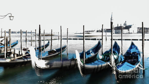Photograph - Venezia High-key, Italy by Lyl Dil Creations