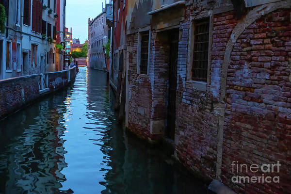 Photograph - Venice At Night by Marina Usmanskaya