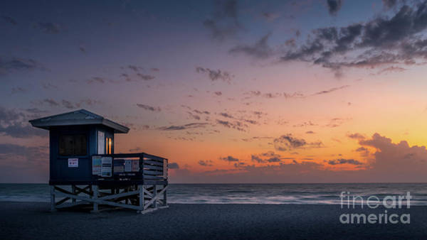 Wall Art - Photograph - Venice Beach Sunset, Florida by Liesl Walsh
