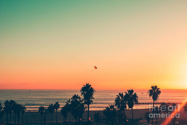 Wall Art - Photograph - Venice Beach Sunset - La by Andrew Shiels