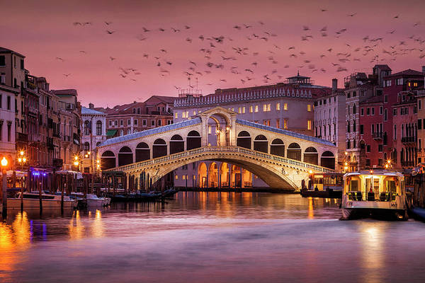 Wall Art - Photograph - Venice Before Dawn by Andrew Soundarajan