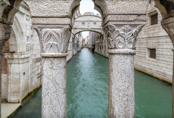 Photograph - Venice Bridge Of Sighs by Georgia Fowler