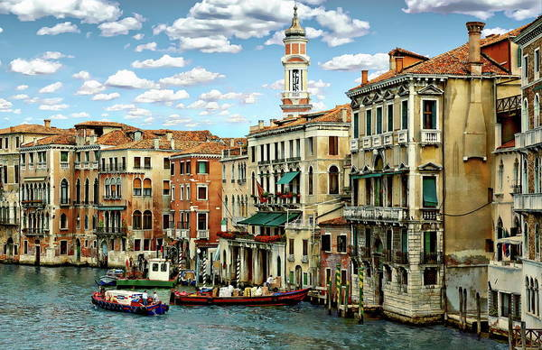 Photograph - Venice Canal by Anthony Dezenzio