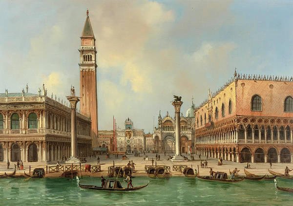 Wall Art - Painting - Venice by Carlo Grubacs
